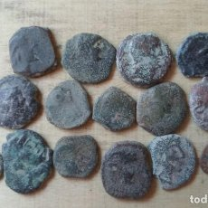 Monedas Imperio Romano: LOTE DE 17 SEMIS ANTIGUOS.. Lote 288094208