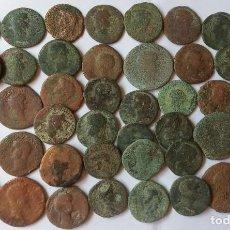 Monedas Imperio Romano: LOTE DE 43 ASES.. Lote 288097843