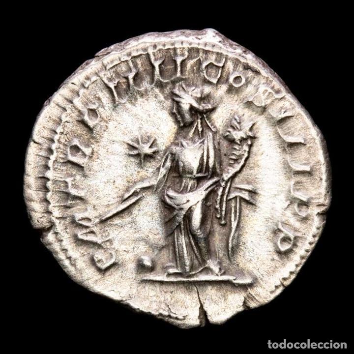Monedas Imperio Romano: Heliogabalo, denario Roma P M TR P IIII COS III P P - ✩ providencia - Foto 2 - 288597238