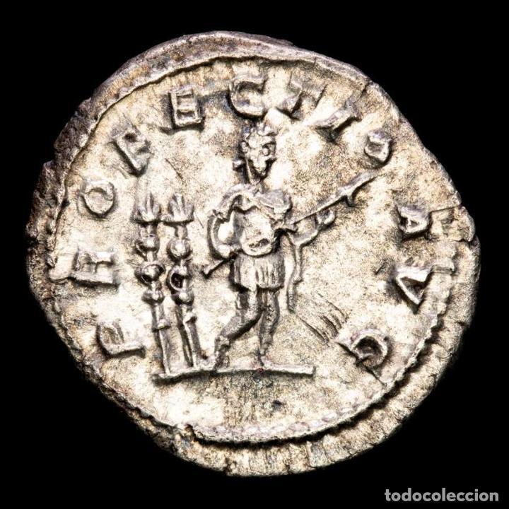 Monedas Imperio Romano: Caracalla 198-217 dC. Denario de plata. Roma 213 dC. PROFECTIO AVG - Foto 2 - 288597598