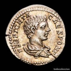 Monedas Imperio Romano: GETA CESAR (198-209 DC.) DENARIO DE PLATA. ROMA. VOTA PVBLICA.. Lote 288597878