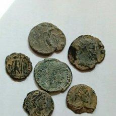 Monedas Imperio Romano: LOTE 9 - 6 BAJO IMP. - CENT.. Lote 289707088