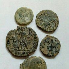 Monedas Imperio Romano: LOTE 10 - 5 BAJO IMP.- CENT.. Lote 289707398