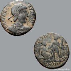 Monedas Imperio Romano: MAGNO MÁXIMO Æ 22, ARLES. REPARATIO-REIPVB. PCON. 1661-27-9-M. Lote 289775533