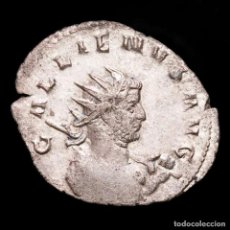 Monedas Imperio Romano: GALIENO. ANTONINIANO AR. MILAN, LEG I ADI VI P VI F , CAPRICORNIO. Lote 289779108