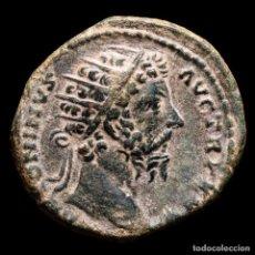 Monedas Imperio Romano: MARCO AURELIO DUPONDIO, ROMA 171-172 DC. - IMP VI COS III - VIC GER. Lote 290025683