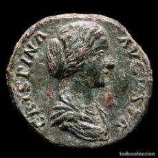 Monedas Imperio Romano: CRISPINA (ESPOSA DE COMMODO) Æ AS, ROMA 180-182 D.C. - LAETITIA. Lote 290033353