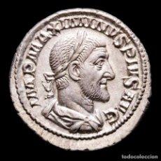 Monedas Imperio Romano: MAXIMINO EL TRACIO DENARIO. ROMA 236 DC. PM TRP II COS PP EMPERADOR. Lote 290040913