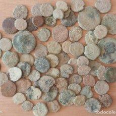 Monedas Imperio Romano: 68 MONEDAS DEL BAJO IMPERIO PARA LIMPIAR.. Lote 293212088