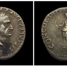 Monedas Imperio Romano: DENARIO DE PLATA, MENTA GALA, OTOÑO DEL 68 D.C.. Lote 293516183