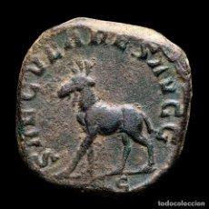 Monedas Imperio Romano: FILIPO II. AE SESTERCIO. SAECVLARES AVGG ALCE. ROMA 248 D.C.. Lote 296576348