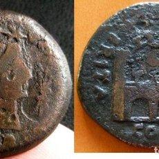 Monedas Imperio Romano: EMERITA AUGUSTA MERIDA (BADAJOZ) AÑO 14/36. AS DE BRONCE ÉPOCA DE TIBERIO. PESO 13,00 GR. 26 MM.. Lote 296622928