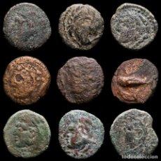 Monedas Imperio Romano: LOTE DE 9 MONEDAS IBERICAS. GADES (LOTE203). Lote 296856923