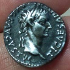 Monedas Imperio Romano: BONITO DENARIO DE PLATA DE TIBERIO.. Lote 297101543