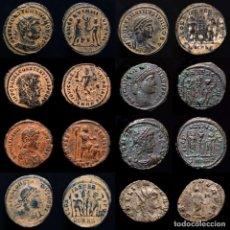 Monedas Imperio Romano: LOTE DE 8 MONEDAS ROMANAS. (LOTE 1091). Lote 297146503