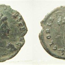 Monedas Imperio Romano: MONEDA DEL EMPERADOR ARCADIO REVERSO GLORIA ROMANORUM CECA SMHA HERACLEA. Lote 297150118