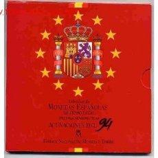 Monedas Juan Carlos I: CARTERA OFICIAL SET PESETAS ESTUCHE 1994 FNMT. Lote 26684143