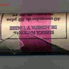 Monedas Juan Carlos I: CARTUCHO 50 PESETAS 1975-80 FNMT OFICIAL 40 MONEDAS FDC MONEDAS PERFECTAS.. Lote 26724529