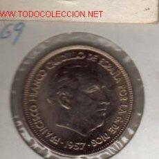 Monedas Juan Carlos I: 25 PTS DE 1957- 69. Lote 17949781