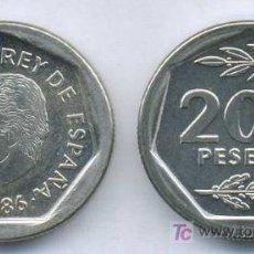 Monedas Juan Carlos I: 200 PESETAS 1986 S/C DE CARTUCHO. Lote 23386230