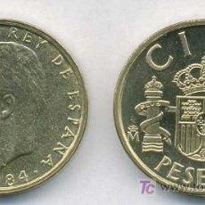Monedas Juan Carlos I: PAREJA 100 PESETAS 1984 S/C DE CARTUCHO. Lote 15165246