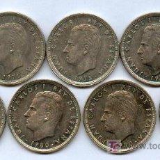 Monedas Juan Carlos I: PRECIOSA COLECCION DE MONEDAS DE 50 PESETA DE JUAN CARLOS, MODULO GRANDE DE CUPRONIQUEL.. Lote 26782716