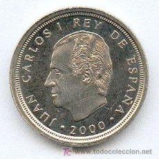 Monedas Juan Carlos I: 10 PESETAS DE JUAN CARLOS I AÑO 2000 ( LA ULTIMA EMITIDA) SIN CIRCULAR. Lote 188580581