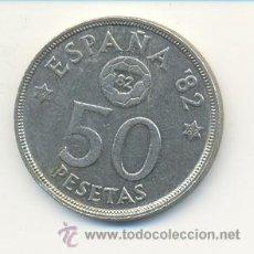 Monedas Juan Carlos I: 3-163. MONEDA 50 PTAS. 1980 ESTRELLA 82. EBC. Lote 9001349
