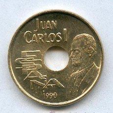 Monedas Juan Carlos I: 25 PESETAS AÑO 1990 JUAN CARLOS, SIN CIRCULAR Y CON PLENO BRILLO ORIGINAL. Lote 23738106