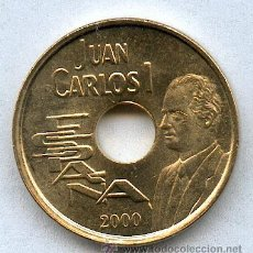 Monedas Juan Carlos I: 25 PESETAS AÑO 2000 SIN CIRCULAR. Lote 17867012