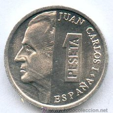 Monedas Juan Carlos I: LA MAS AÑORADA DE LAS PESETAS.¡¡¡ LA ULTIMA QUE CIRCULÓ AÑO 2001!!. PRECIOSA MONEDITA SIN CIRCULAR.. Lote 108770139