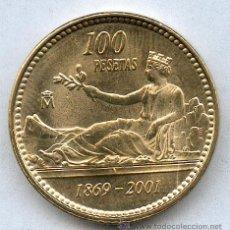 Monedas Juan Carlos I: 100 PESETAS 2001 ( LA ULTIMA EMITIDA) SIN CIRCULAR.PUEDES ELEGIR LIS AL ANVERSO O AL REVERSO. Lote 268827349