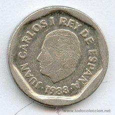 Monedas Juan Carlos I: MONEDA DE 200 PESETAS 1988. Lote 188582002