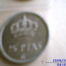 Monedas Juan Carlos I: MONEDAS DE 25 PESETAS. 1975. Lote 9553283