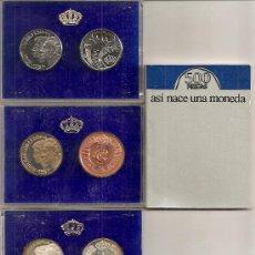 Moedas Juan Carlos I: PRUEBAS DE LA MONEDA DE 500 PESETAS DE 1987. Lote 272001768