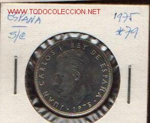 25 PTS DE 1975-79 (Numismática - España Modernas y Contemporáneas - Juan Carlos I)
