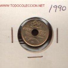 Monedas Juan Carlos I: 25 PTS DE 1990 SC. Lote 1764747