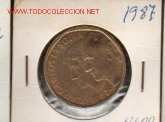 500 PTS DE 1987 SIN CIRCULAR (Numismática - España Modernas y Contemporáneas - Juan Carlos I)
