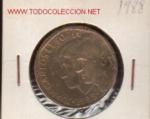 BONITA MONEDA DE 500 PTS DE 1988 CALIDAD SC (Numismática - España Modernas y Contemporáneas - Juan Carlos I)