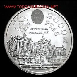Moneda 2000 Pesetas Plata Año 1995 Comprar Monedas De Juan Carlos I En Todocoleccion 42381701