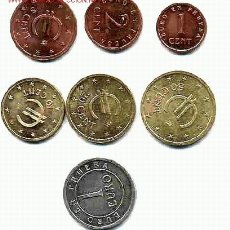 Monedas Juan Carlos I: COLECCION INCOMPLETA DE 7 MONEDAS DE EUROS DE CHURRIANA FALTAN LOS 2 EUROS SIN CIRCULAR. FDC , RB. Lote 52992343