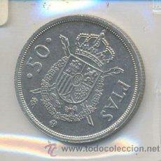 Monedas Juan Carlos I: 3-182. MONEDA ESPAÑA. 50 PTAS. 1983. Lote 10135652