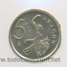 Monedas Juan Carlos I: 3-199. MONEDA 5 PTAS. 1994. ARAGÓN. S/C. Lote 10321225