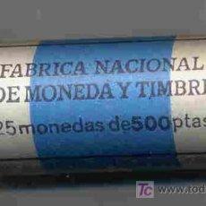 Monedas Juan Carlos I: CARTUCHO MONEDAS DE 500 PESETAS 1993 , FNMT, OFICIAL , 25 MONEDAS.. Lote 26822806