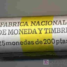 Monedas Juan Carlos I: CARTUCHO MONEDAS DE 200 PESETAS 1994 , FNMT, OFICIAL , 25 MONEDAS. RB. Lote 205330051