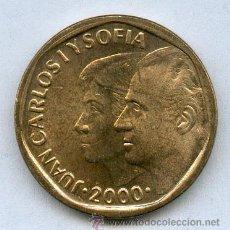 Monedas Juan Carlos I: 500 PESETAS JUAN CARLOS I AÑO 2000 SIN CIRCULAR Y CON PLENO BRILLO ORIGINAL. Lote 29159542