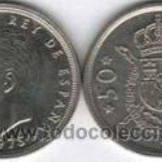 Monedas Juan Carlos I: MONEDA DE 50 PTS DE 1975 *(19-79) SIN CIRCULAR. Lote 11789084
