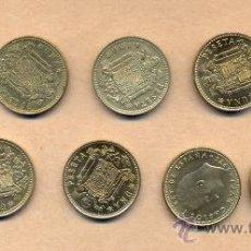 Monedas Juan Carlos I: NN115 - 10 MONEDAS 1 PESETA JUAN CARLOS I 1975/80 - 10 MONEDAS 1 PESETA 1980 MBC J CARLOS I. Lote 23349182