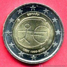 Monedas Juan Carlos I: MONEDA DE 2 EUROS 2009 ESPAÑA EMU ,ESTRELLAS GRANDES (VARIANTE) . SIN CIRCULAR DE CARTUCHO, RB. Lote 125958231