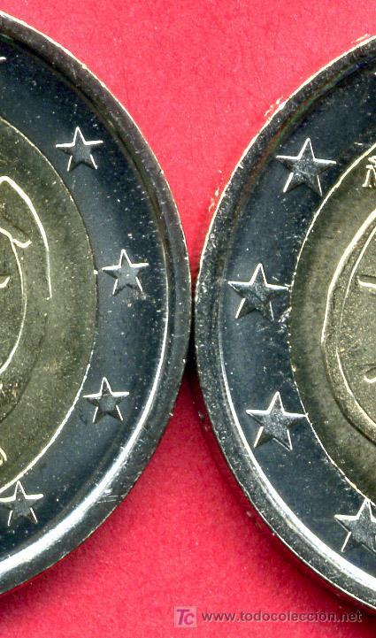 Monedas Juan Carlos I: MONEDA DE 2 EUROS 2009 ESPAÑA EMU ,ESTRELLAS GRANDES (VARIANTE) . SIN CIRCULAR DE CARTUCHO, RB - Foto 2 - 153842482